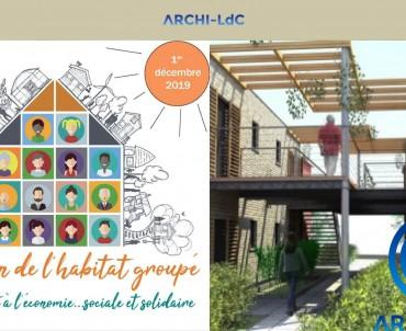 Archi-LDC sera présent au salon de l'habitat groupé !